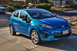 Ford Fiesta (HDR) | by ben.chaney.archive