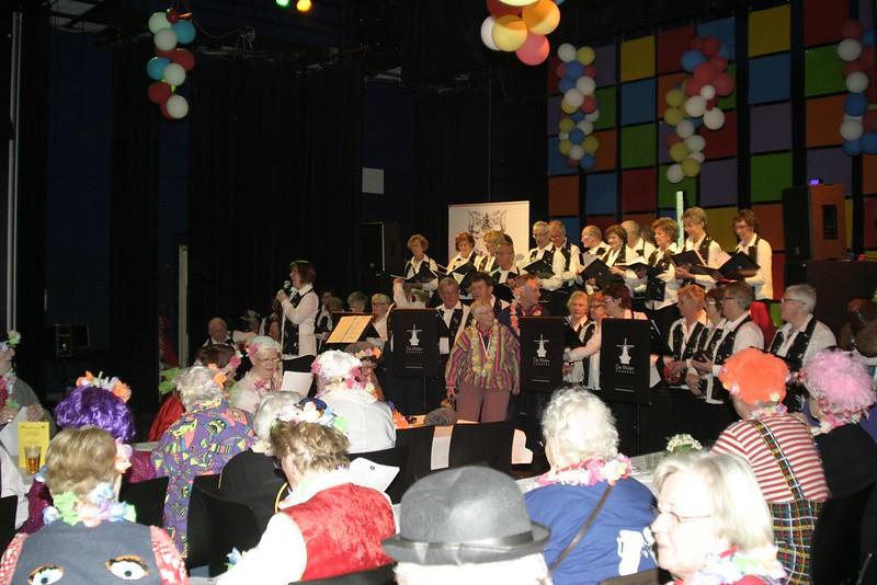 Seniorencarnaval Tiliander 8-3-2011