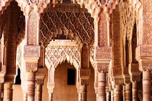 Columns II, Patio de los Leones | by trioptikmal