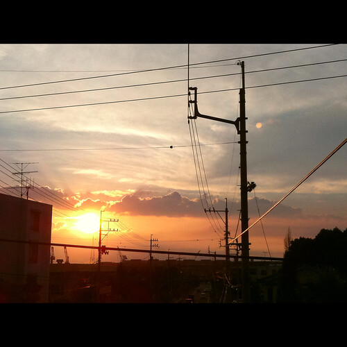 sunset japan iphone 四国 愛媛