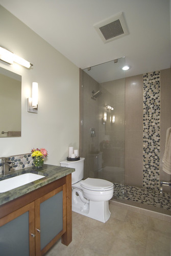 Asian Inspired Bathroom Remodel | by summitdesignremodeling