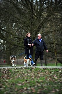 Walking the dogs | by Get Active Bolton