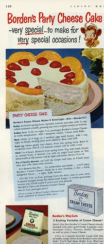 Borden's Party Cheesecake, 1951 | by genibee