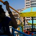 first day. ferris wheel by the sea. by lizzle378