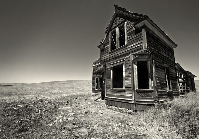 A fixer-upper...or maybe it's just a money pit.