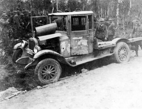 Den norske lastebilen eides av Ole Barkhald, Fauske