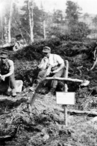 Gravene til Gallob og Dullnig i Saltdal