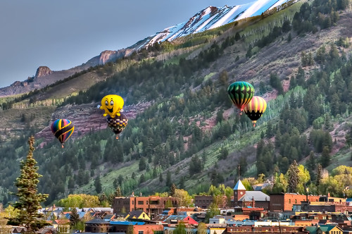 travel usa colorado balloon telluride hdr d90 nikond90 nikon24120f4