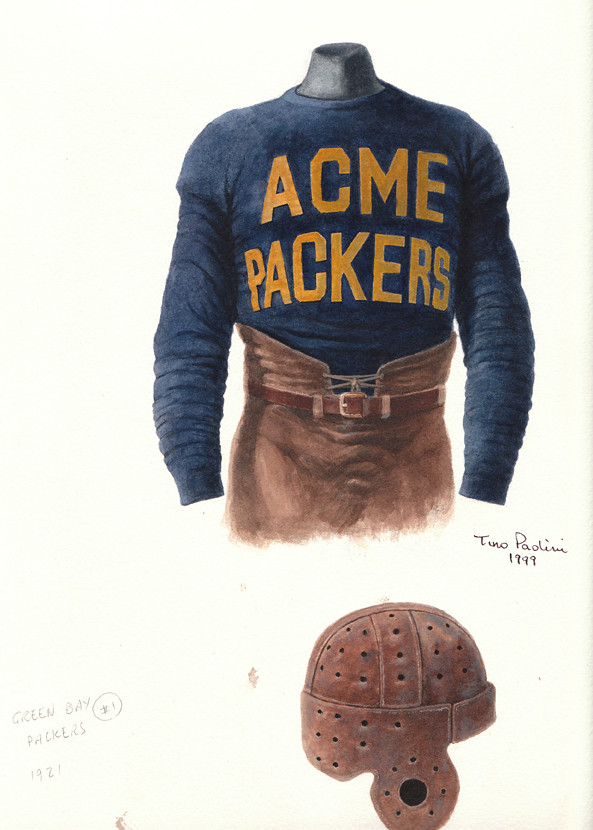 brand new d7f15 85132 Acme Packers 1921 uniform artwork | This is a highly detaile ...