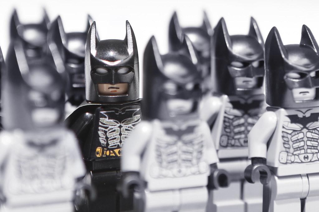Игрушки Лего: бэтмены