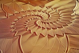 Geometric sand sculptures | by Tambako the Jaguar