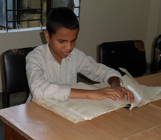 Braille Practice in Dhaka | by The Advocacy Project