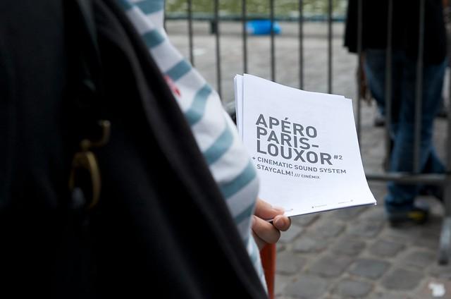 Apéro Paris-Louxor cinéma au Point Éphémère