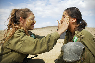 Female Infantry Instructors Prepare for a Combat Exercise, Nov 2010 | by Israel Defense Forces