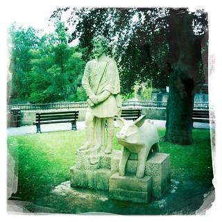 King Bladud Statue (Parade Gardens, Bath)