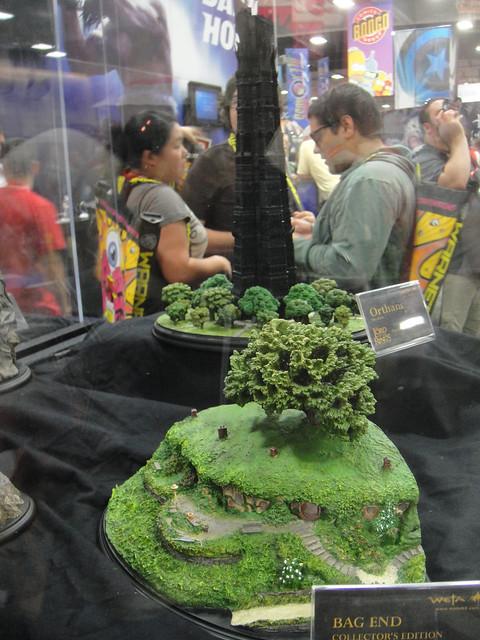 San Diego Comic-Con 2011 - Lord of the Rings diorama (Weta booth)