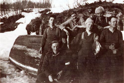 Engelske soldater. Bilde fra et kamera som ble konfiskert av bergjegere