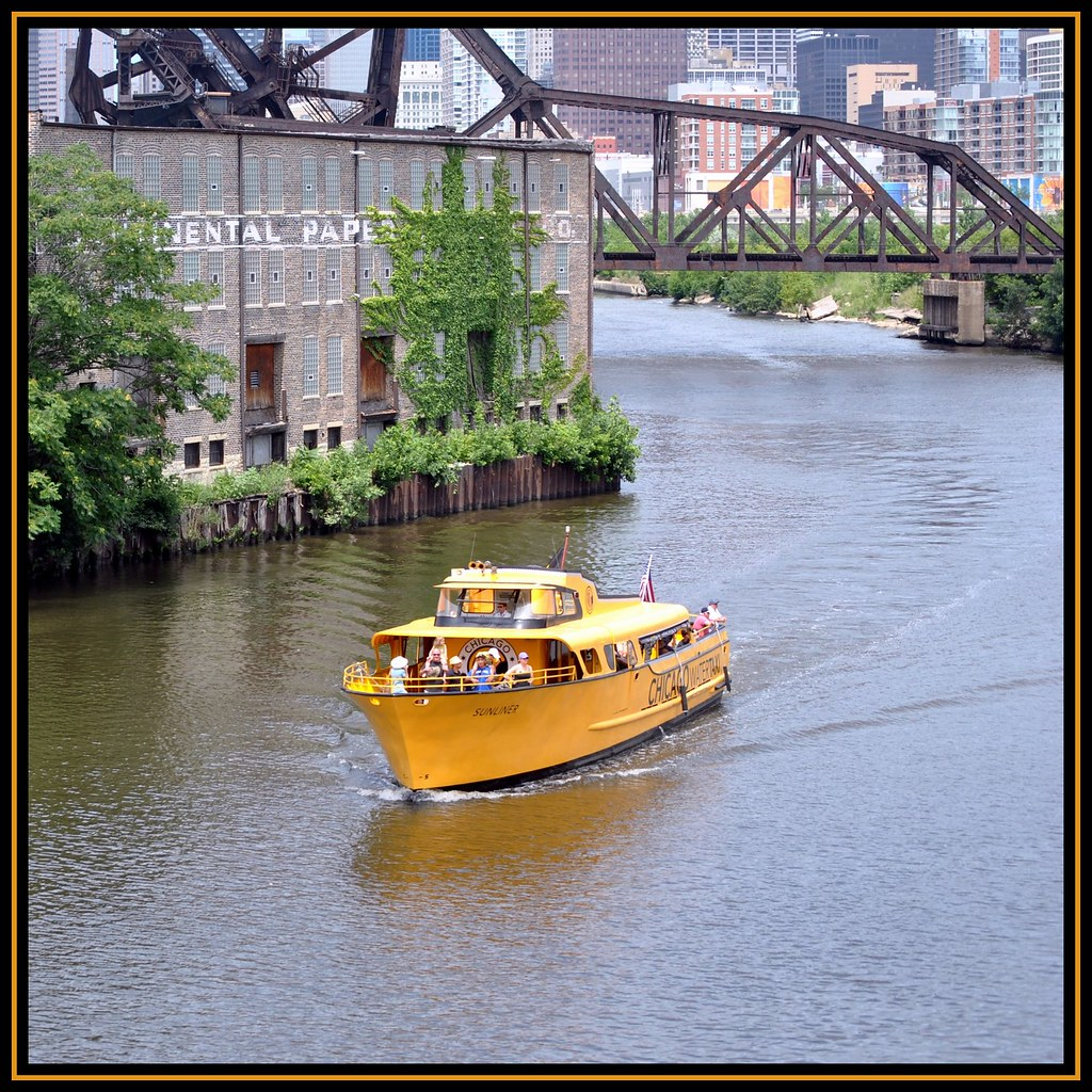 """Sunliner""  - Chicago Water Taxi"