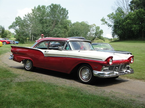 57 Ford Fairlane 500   by Crown Star Images