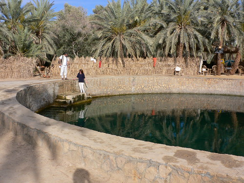 Cleopatra's spring in Siwa in Egypt | by heatheronhertravels