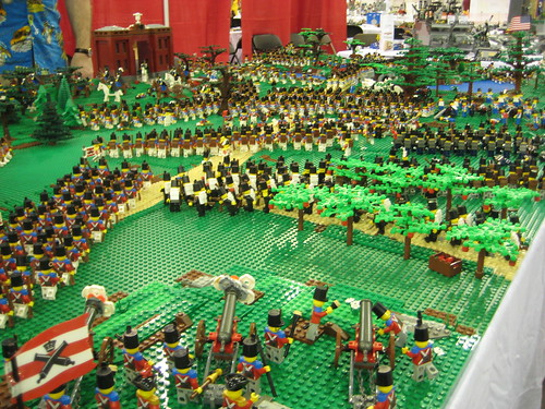 BrickFair 2011: Napoleonic Wars MLS Buildout Saturday Night