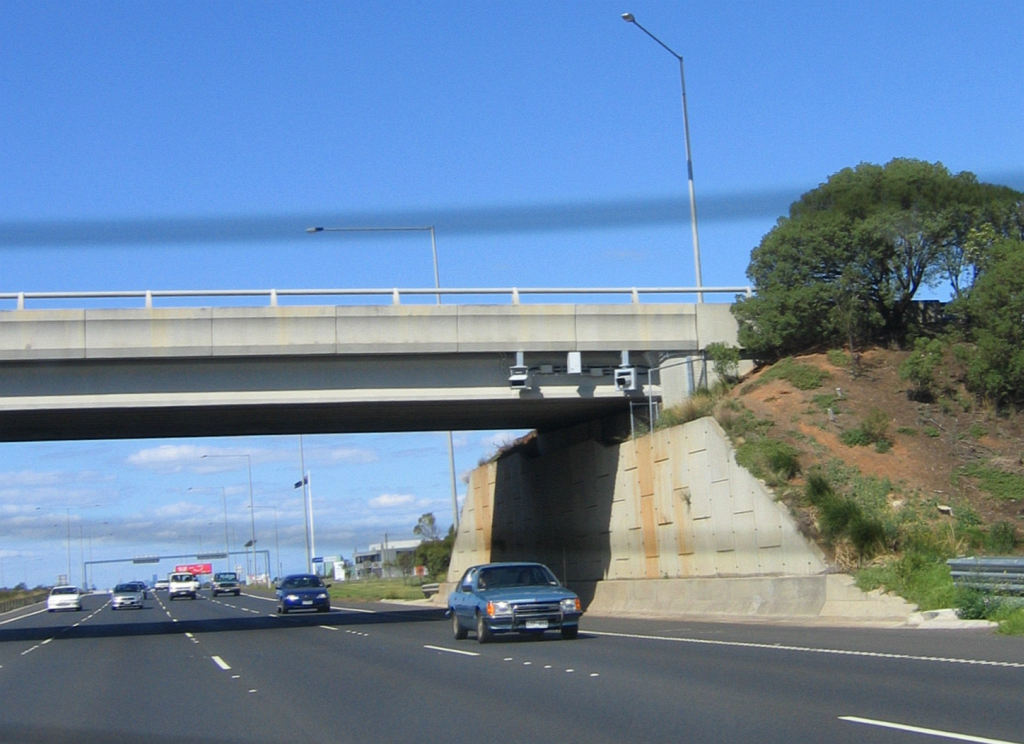 Speed cameras on the Princes Freeway at Forsyth Road,   Flickr