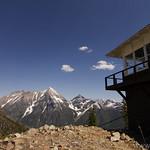 Numa Ridge Lookout with Rainbow Peak