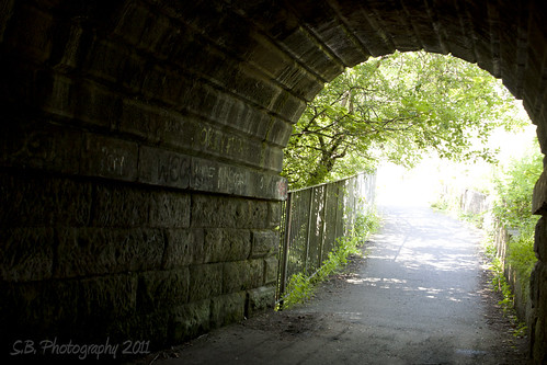 light at the end of the tunnel | by SamBoyd Photography
