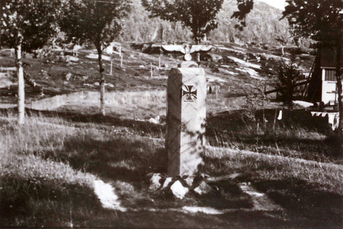 Minne over falne tyskere i Narvik