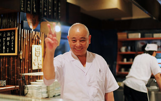 210 [the happy yakitori chef] | by eblaser