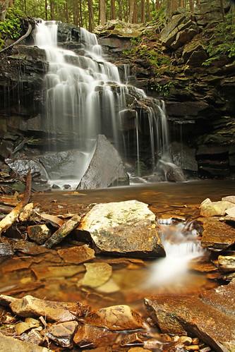 waterfall pennsylvania wyomingstateforest dutchmanfalls june2011
