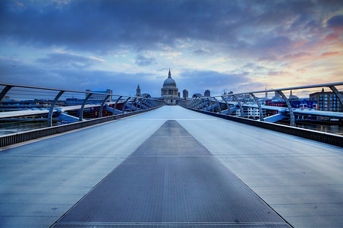 bridge summer urban london saint skyline sunrise photography cathedral millenium pauls solstice kelly steven