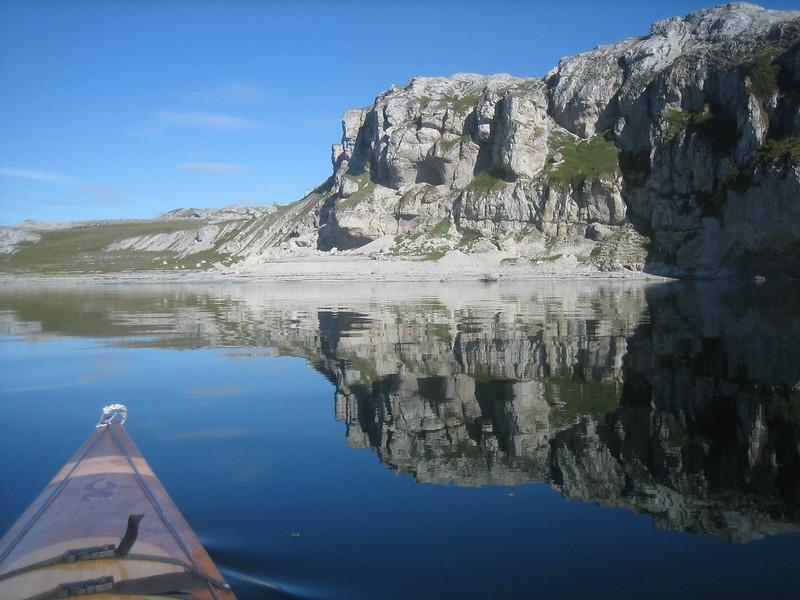 Kayaking around Reinøya 09