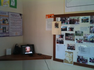 Our new digital frame and notice board | by The Good Life Orphanage