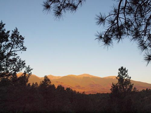 mountains sunrise colorado co
