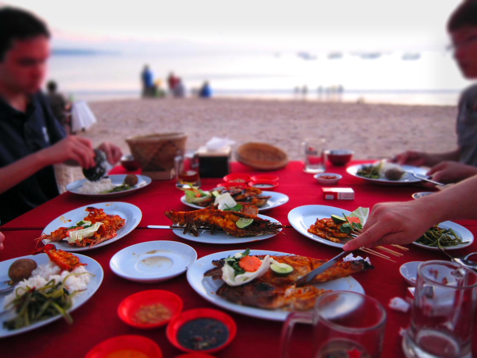 Indonesian Seafood Feast