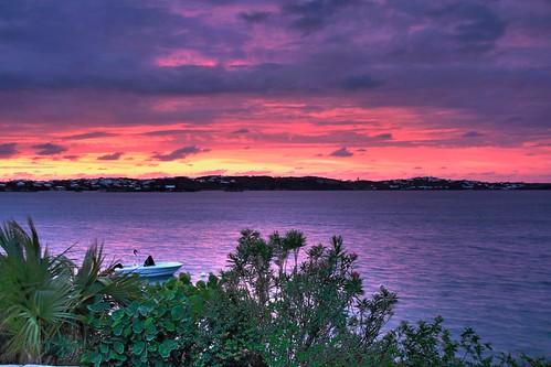 Sunset in Bermuda [HDR]   by leechantmcarthur