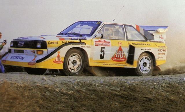 Audi Sport Quattro E2 – San Remo 1985