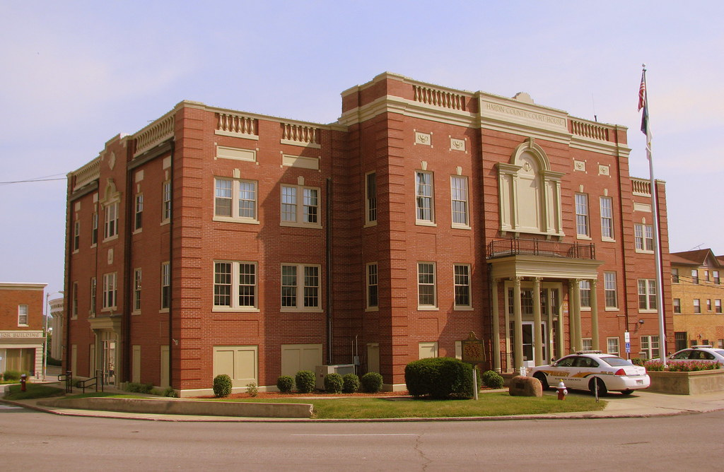 Hardin County, KY Courthouse   Built in 1932 to replace one