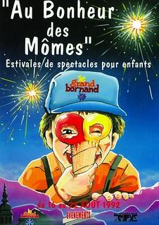Affiche Festival Au Bonheur des Mômes-1992 | by Le Grand-Bornand