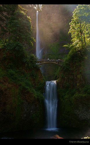 usa nature oregon portland landscape waterfall scenery multnomahfalls columbiarivergorge blinkagain