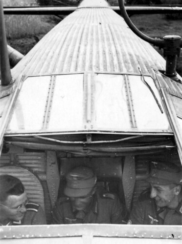 Ombord i et Junkers Ju 52 i København