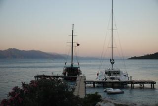 sunset at the Sea Club, May 2008   by alljengi