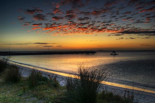 ocean sea clouds sunrise australia southernocean westernaustralia hdr esperance photomatix