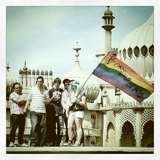 """Born This Gay"", Pride 2011, Brighton BN1 