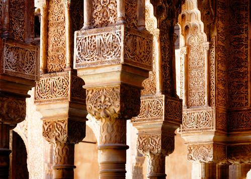Columns, Patio de los Leones | by trioptikmal