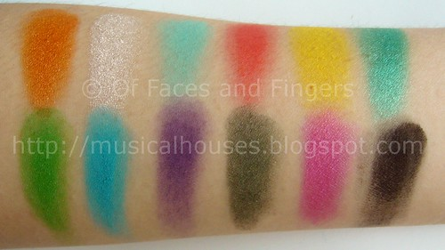 sleek curacao palette swatch | by musicalhouses