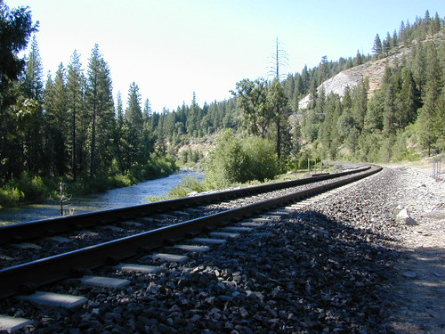 Tracks near River, NorCal
