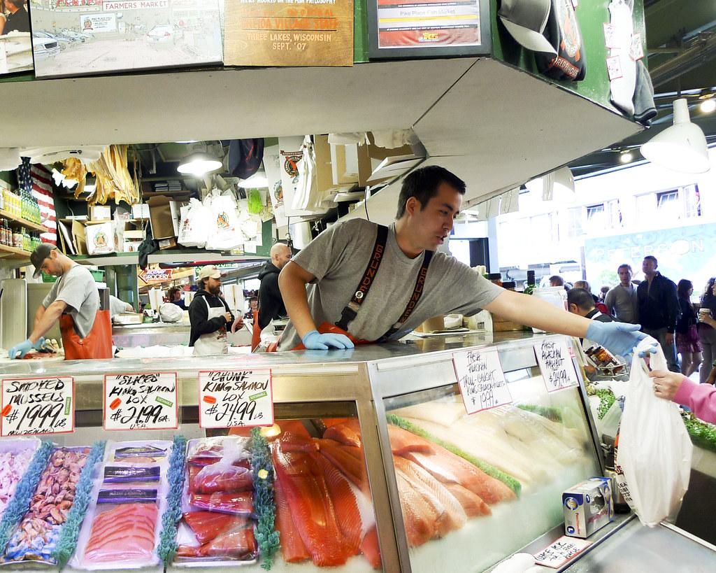 photo du marché aux poissons