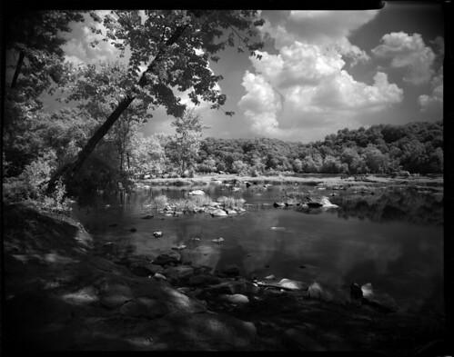film rollei speed river ir virginia graphic anniversary potomac 4x5 mclean graflex hoya ektar r72 cericsmith2012